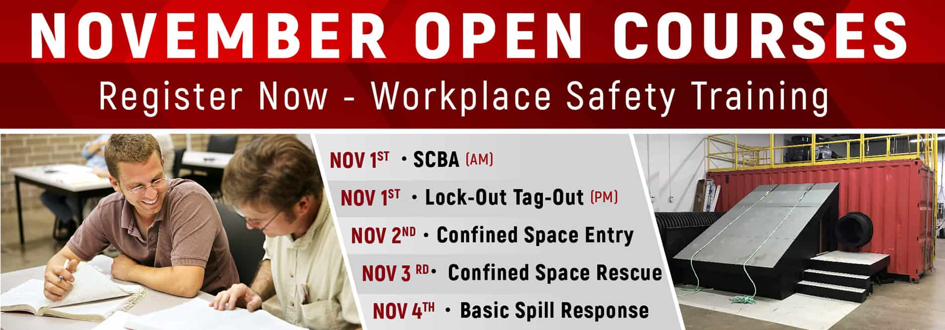 Open Registration Workplace Safety Training